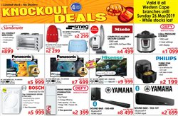Electronics & Home Appliances offers in the Tafelberg Furnishers catalogue in Cape Town