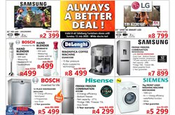Electronics & Home Appliances offers in the Tafelberg Furnishers catalogue in Cape Town ( 1 day ago )
