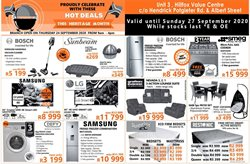 Electronics & Home Appliances offers in the Tafelberg Furnishers catalogue in Krugersdorp ( Expires tomorrow )