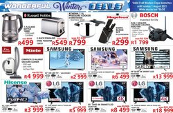 Electronics & Home Appliances offers in the Tafelberg Furnishers catalogue ( Expires tomorrow)