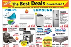 Air conditioner offers in the Tafelberg Furnishers catalogue in Cape Town