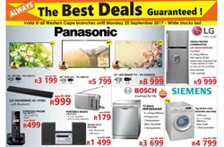 Fridge freezer offers in the Tafelberg Furnishers catalogue in Cape Town