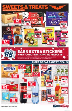 Chocolate offers in the Pick n Pay Hypermarket catalogue in Cape Town