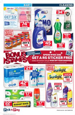 Baby offers in the Pick n Pay Hypermarket catalogue in Cape Town