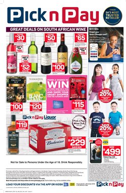 Phones offers in the Pick n Pay Hypermarket catalogue in Cape Town