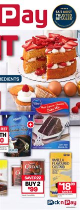 Groceries offers in the Pick n Pay Hypermarket catalogue in Johannesburg