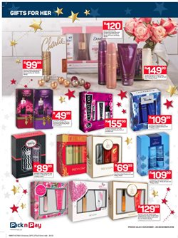 Perfume offers in the Pick n Pay Hypermarket catalogue in Cape Town