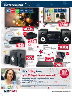 Cell phones offers in the Pick n Pay Hypermarket catalogue in Cape Town