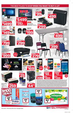 Batteries offers in the Pick n Pay Hypermarket catalogue in Cape Town