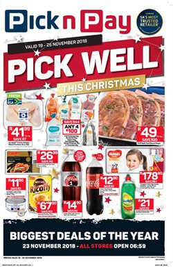 Christmas offers in the Pick n Pay Hypermarket catalogue in Cape Town
