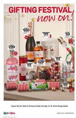 Collections offers in the Pick n Pay Hypermarket catalogue in Cape Town