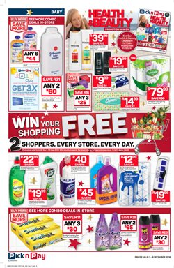 Shampoo offers in the Pick n Pay Hypermarket catalogue in Cape Town