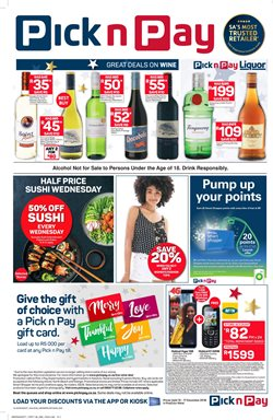 Shoes offers in the Pick n Pay Hypermarket catalogue in Cape Town
