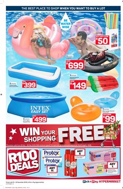 Soap offers in the Pick n Pay Hypermarket catalogue in Cape Town