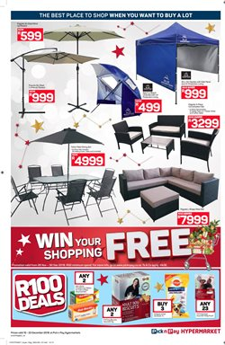 Sofa offers in the Pick n Pay Hypermarket catalogue in Cape Town