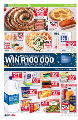 Juice offers in the Pick n Pay Hypermarket catalogue in Johannesburg