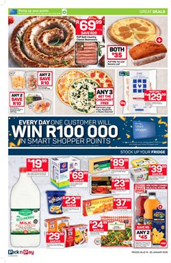 Beverages offers in the Pick n Pay Hypermarket catalogue in Cape Town