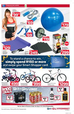 Rugby offers in the Pick n Pay Hypermarket catalogue in Cape Town