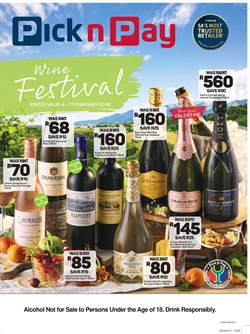 Cap offers in the Pick n Pay Hypermarket catalogue in Cape Town