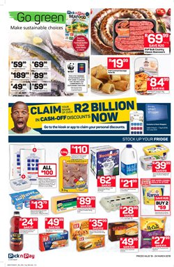 Juice offers in the Pick n Pay Hypermarket catalogue in Klerksdorp