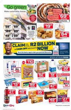 Milk offers in the Pick n Pay Hypermarket catalogue in Cape Town