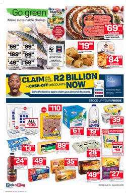 Juice offers in the Pick n Pay Hypermarket catalogue in Durban