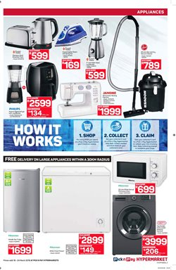 Washing machine offers in the Pick n Pay Hypermarket catalogue in Cape Town