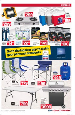 Lamp offers in the Pick n Pay Hypermarket catalogue in Khayelitsha