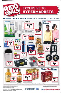 New offers in the Pick n Pay Hypermarket catalogue in Cape Town