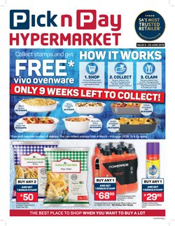 Groceries offers in the Pick n Pay Hypermarket catalogue in Cape Town