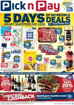 Groceries offers in the Pick n Pay Hypermarket catalogue in Port Elizabeth