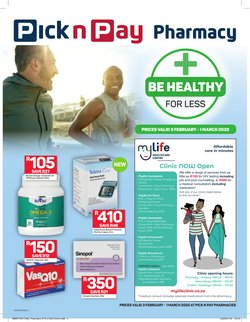 Pick n Pay Hypermarket catalogue in Cape Town ( 5 days left )