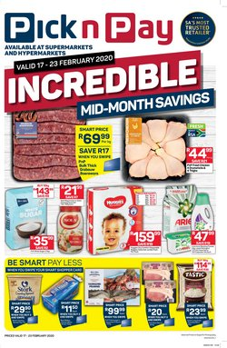 Pick n Pay Hypermarket catalogue in Roodepoort ( 3 days left )