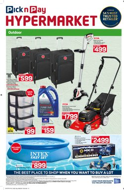 Castrol specials in Pick n Pay Hypermarket