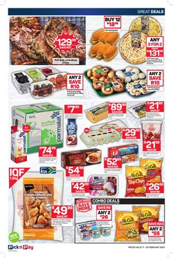 Cakes specials in Pick n Pay Hypermarket