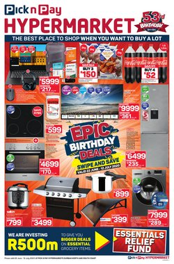 Pick n Pay Hypermarket catalogue in Durban ( 3 days left )