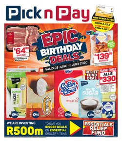 Pick n Pay Hypermarket catalogue ( Expires today)