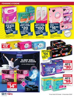 Tampons specials in Pick n Pay Hypermarket