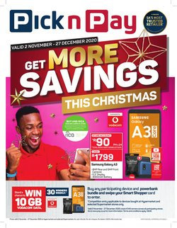 Christmas offers in the Pick n Pay Hypermarket catalogue ( 29 days left)