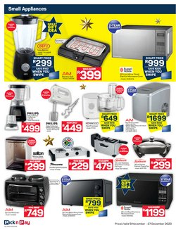 Russell Hobbs specials in Pick n Pay Hypermarket