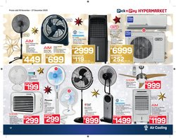 Ceiling fan specials in Pick n Pay Hypermarket