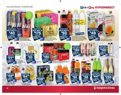 Fruit juice specials in Pick n Pay Hypermarket