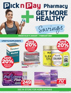 Pharmacy specials in Pick n Pay Hypermarket