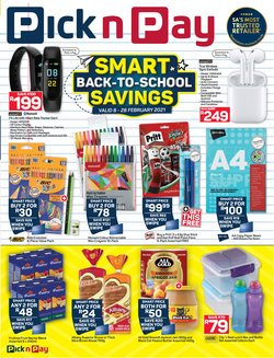 Groceries offers in the Pick n Pay Hypermarket catalogue in Durban ( 4 days left )