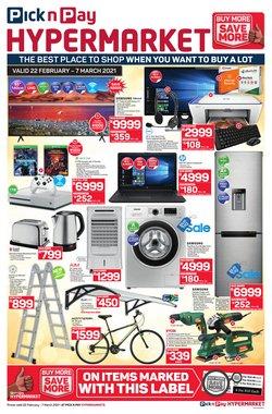 Pick n Pay Hypermarket catalogue ( 7 days left )