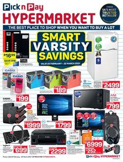 Pick n Pay Hypermarket catalogue ( 22 days left )