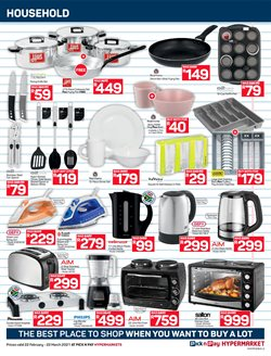 Toaster specials in Pick n Pay Hypermarket