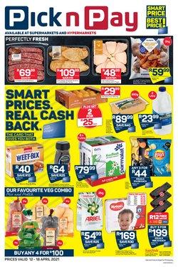 Pick n Pay Hypermarket catalogue ( 2 days ago )