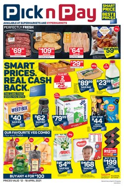 Groceries offers in the Pick n Pay Hypermarket catalogue in Cape Town ( 2 days ago )