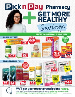 Pick n Pay Hypermarket offers in the Pick n Pay Hypermarket catalogue ( Expires today)